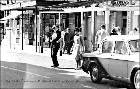Elwy Cafe Abergele in the 1960s