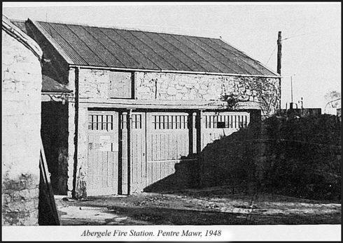 Abergele Fire Station, Pentre Mawr Park 1948