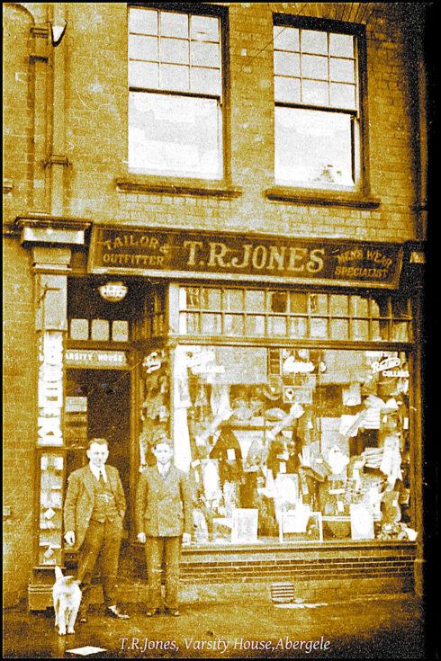 T R Jones shop Abergele from the Dennis Parr Collection.