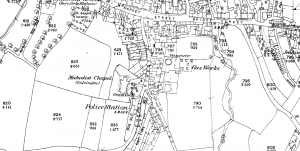 Ordnance Survey © Crown copyright 1872