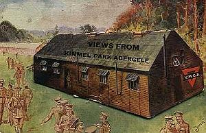 Kinmel Park Camp postcard