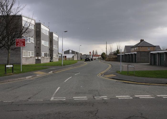 Peel Street, Abergele 2012/3. Photo: Sion Jones