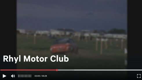 Rhyl Motor Club video still copyright BFI