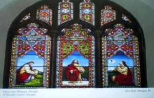 Stained Glass Window at St Michael's