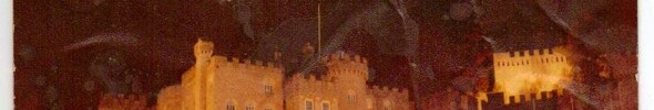 Gwrych Castle at night 02 copyright Karen Linley